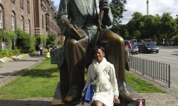 Hanging out with Hans Christian Andersen