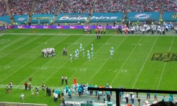 Wembley plays home to Dolphins