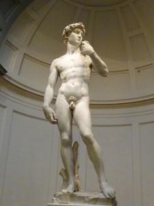 Michelangelo's  David,